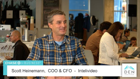 Instant Access to Scott Heinemann - CFO & COO, Intelivideo by dswlive, powered by Intelivideo