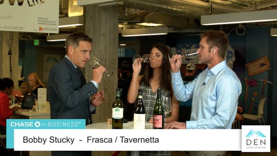 Instant Access to Bobby Stucky Wine Tasting - Frasca / Tavernetta by dswlive, powered by Intelivideo