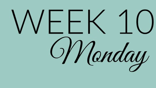 Week 10 MONDAY by L.A. Bride Body, powered by Intelivideo