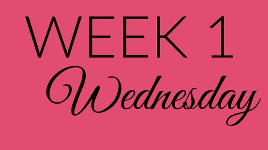 Week 1 WEDNESDAY by L.A. Bride Body, powered by Intelivideo