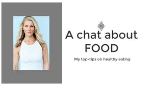 Instant Access to A chat about FOOD by L.A. Bride Body, powered by Intelivideo