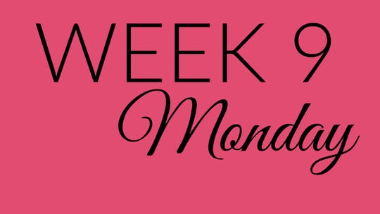 Week 9 MONDAY by L.A. Bride Body, powered by Intelivideo