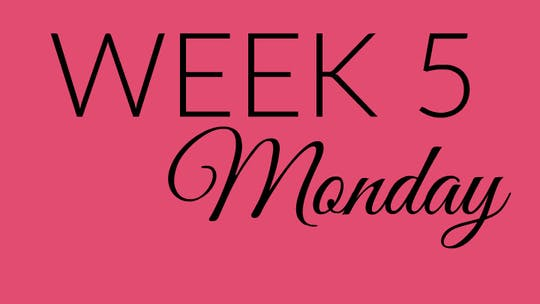 Week 5 MONDAY by L.A. Bride Body, powered by Intelivideo
