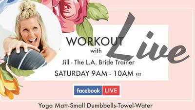 Instant Access to October LIVE Workout by L.A. Bride Body, powered by Intelivideo