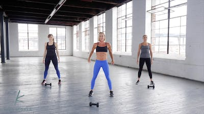 Instant Access to Lower Body (Strength + Cardio) by Kira Stokes, powered by Intelivideo