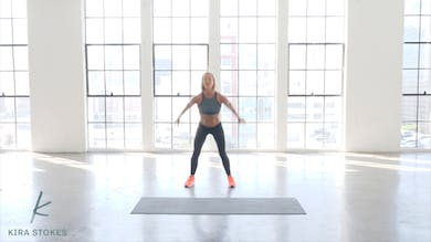 Lower Body (Strength + Cardio) by Kira Stokes