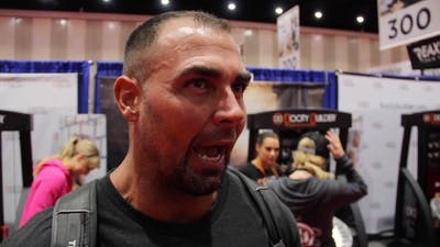 IHRSA 2018 - Bret Contreras by Friday Live