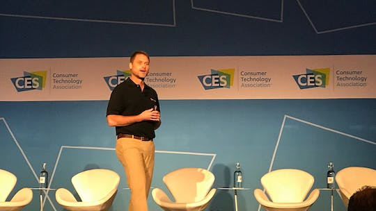 Instant Access to Episode 18: CES FitnessTech Summit and Interview with David Shaw by Friday Live, powered by Intelivideo