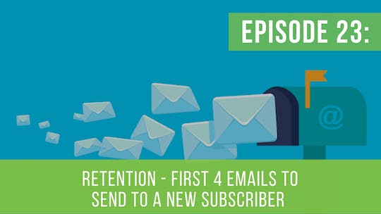 Instant Access to Episode 23: First 4 Emails To Send To A Subscriber by Friday Live, powered by Intelivideo