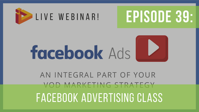 Instant Access to Episode 39: Why Use Facebook Advertising by Friday Live, powered by Intelivideo