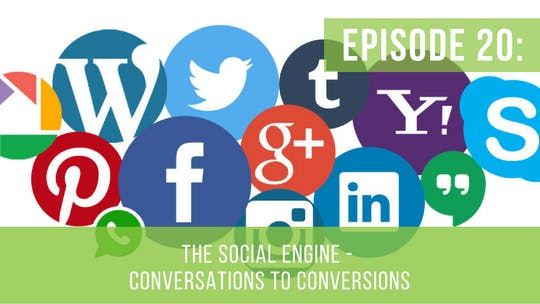 Instant Access to Episode 20: The Social Engine Series – Conversations to Conversions by Friday Live, powered by Intelivideo