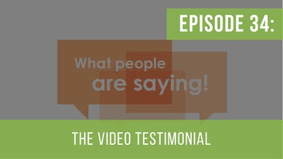 Instant Access to Episode 34: Video Testimonials by Friday Live, powered by Intelivideo