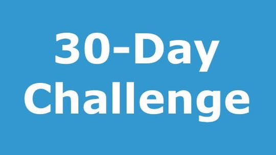 30-Day Challenge and Supportive Materials by MASHUP®