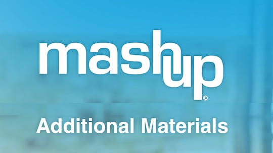 Additional Materials by MASHUP®