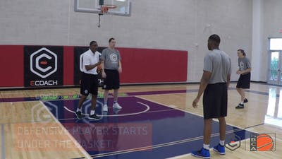 Dwane Casey - Shot Challenge and Rebound Drill by eCoachBasketball