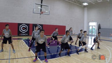 Jim O'Brien - Defensive Slide Warmup by eCoachBasketball