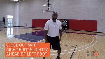 Lloyd Pierce - Up Side Defensive Stance by eCoachBasketball