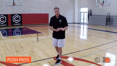 Brett Brown - The Push Pass by eCoachBasketball