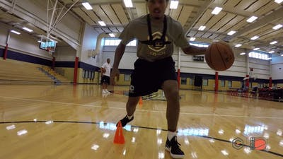 Alvin Gentry - Cone Dribbling - Inside Out by eCoachBasketball