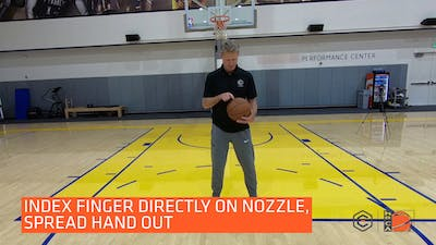 Steve Kerr - Shooting - Hand Placement by eCoachBasketball