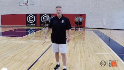 Brett Brown - One on One Around Staggered Cones by eCoachBasketball