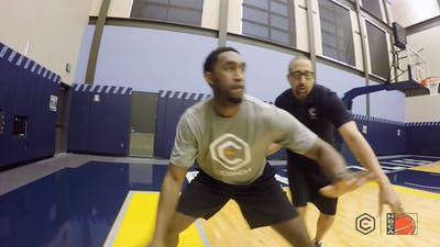 David Fizdale - Post Moving Ball Handling by eCoachBasketball