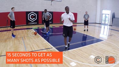 Dwane Casey - Block to Block Drill by eCoachBasketball