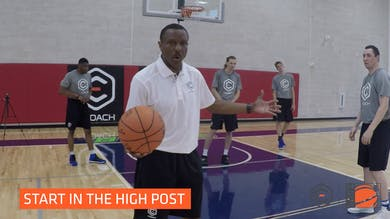 Dwane Casey - Interior Passing and Finish Drill by eCoachBasketball