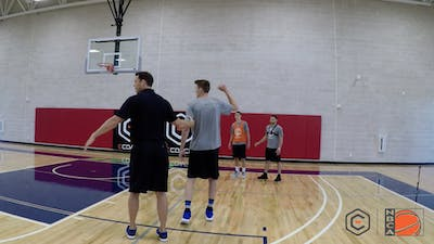 Luke Walton - Curling Off the Pin Down Screen by eCoachBasketball