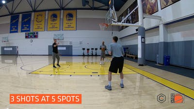 Steve Kerr - Spot Shooting by eCoachBasketball