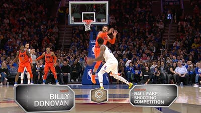 Billy Donovan - Ball Fake Shooting Competition by eCoachBasketball
