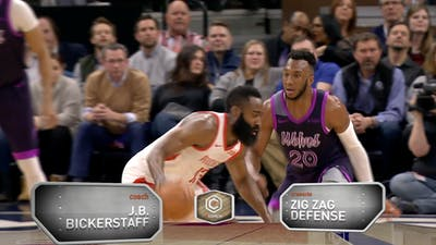 J.B. Bickerstaff - Zig Zag Defense by eCoachBasketball
