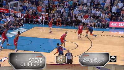 Steve Clifford - Perimeter Tactile Touch by eCoachBasketball