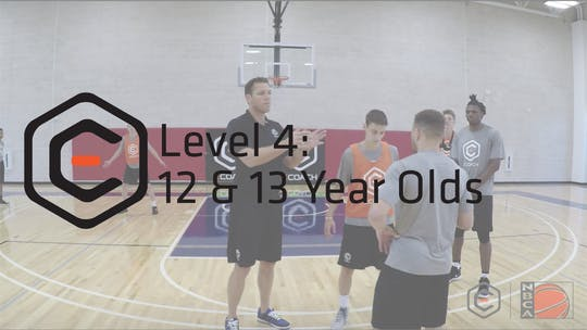 Level 4 (12 & 13 year olds) by eCoachBasketball