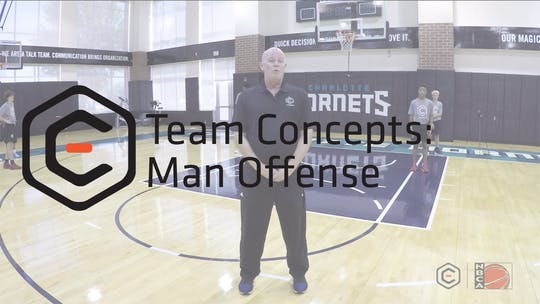 Man Offense by eCoachBasketball
