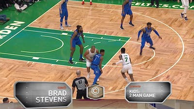 Brad Stevens - Kids: 2 Man Game by eCoachBasketball