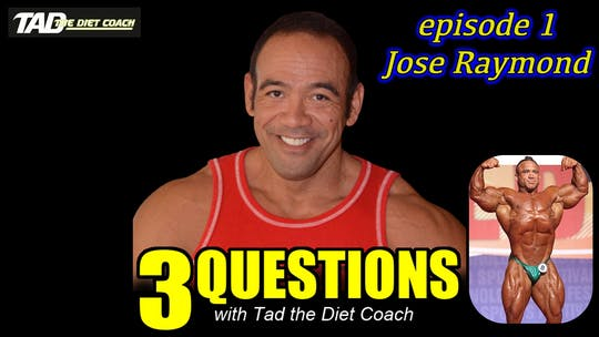 Instant Access to Episode 1 with Jose Raymond by TadTV, powered by Intelivideo