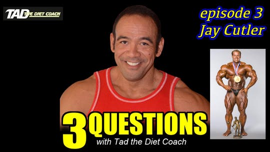 Instant Access to Episode 3 with Jay Cutler by TadTV, powered by Intelivideo