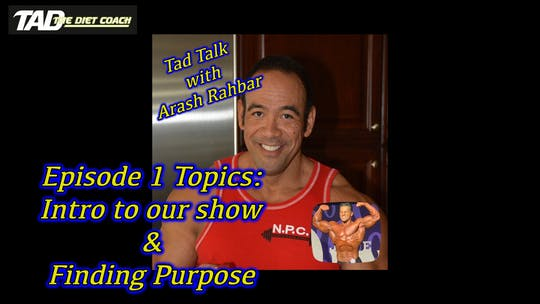 Instant Access to Tad Talk episode 1 by TadTV, powered by Intelivideo