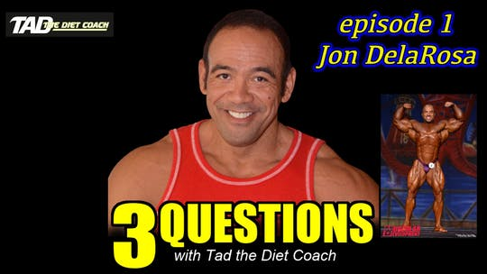 Instant Access to Episode 2 with Jon Dela Rosa by TadTV, powered by Intelivideo