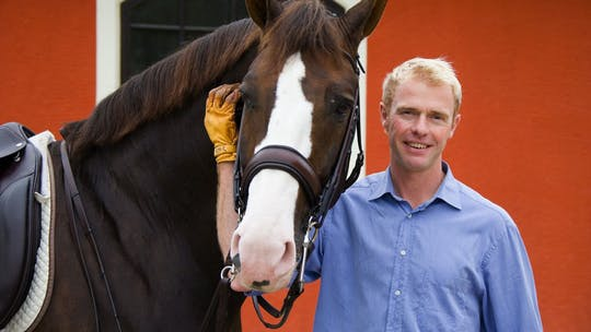 Forward and back withing the gaits and flying changes with Jan Brink by Dressage Today Online