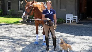 Instant Access to Half pass and not falling in, balance, uphill, flying change pitfalls with Catherine Haddad by Dressage Today Online, powered by Intelivideo