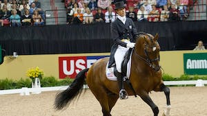 Courtney King-Dye teaches Half Halts and Self Carriage by Dressage Today Online