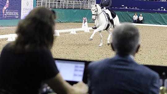 Instant Access to Gary Rockwell - Half Pass by Dressage Today Online, powered by Intelivideo