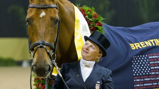 Building the Passage, keeping the horse straight, changes with Debbie McDonald by Dressage Today Online