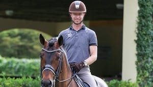 Working thru flying change issues with Nicholas Fyffe by Dressage Today Online