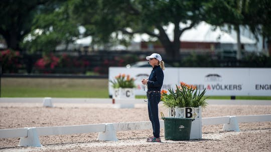 Debbie McDonald by Dressage Today Online