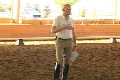 Jeremy Steinberg, part 1, day 1 by Dressage Today Online