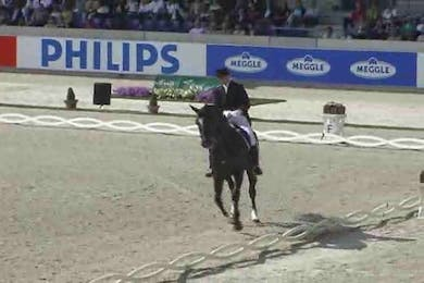 Andreas Helgstrand, DEN, Gredstedgards Casmir, 1999, DWB x Continue, 73.60 by Dressage Today Online