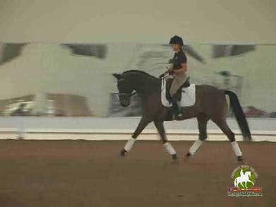 Jennifer Baumert, part 1, day 2 by Dressage Today Online